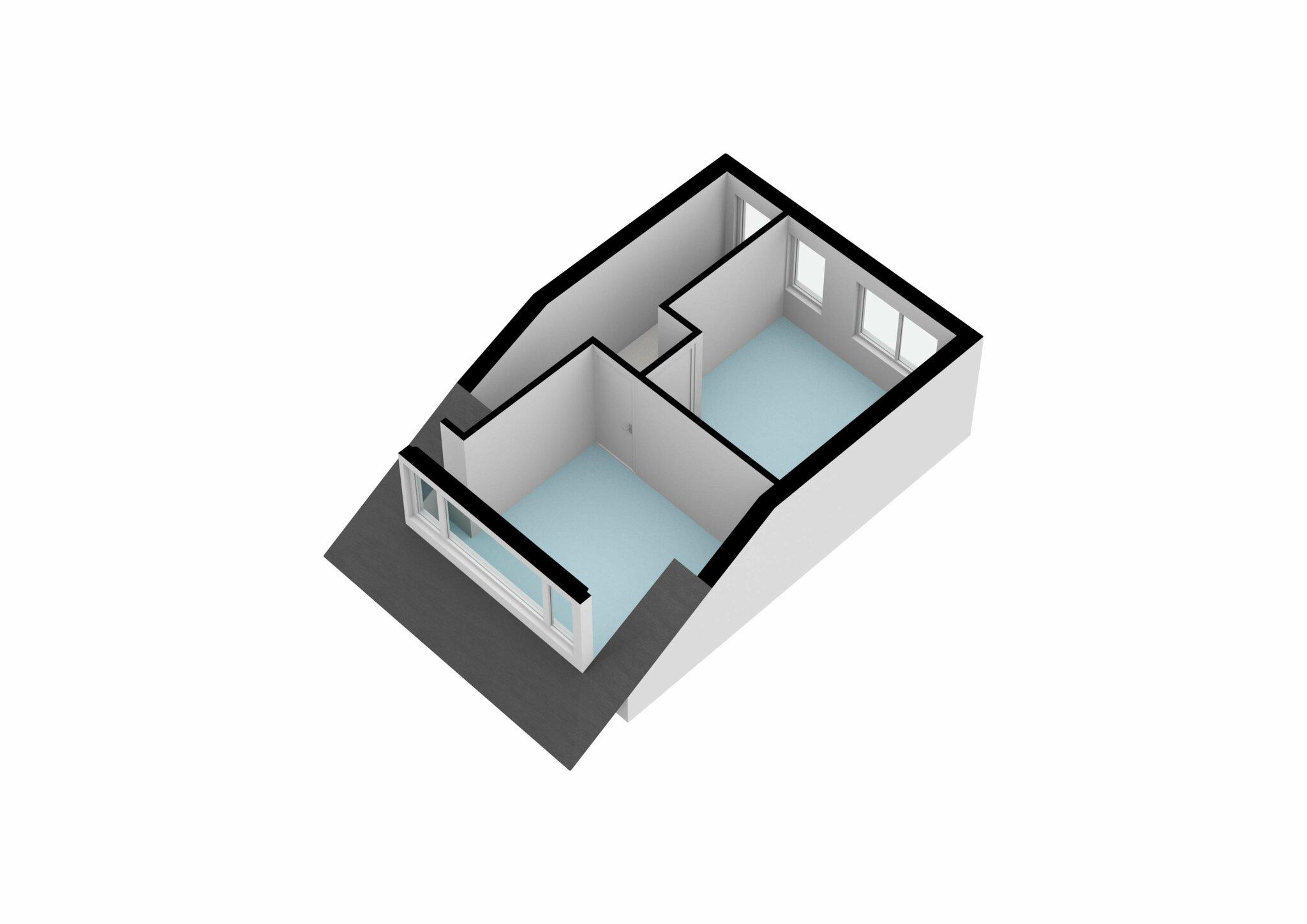 Zaandam – J.C. van Wessemstraat 29 – Plattegrond 5