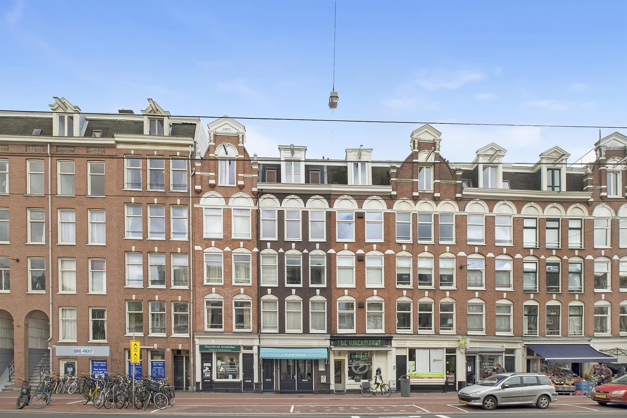 Amsterdam – Frederik Hendrikstraat 67III – Hoofdfoto