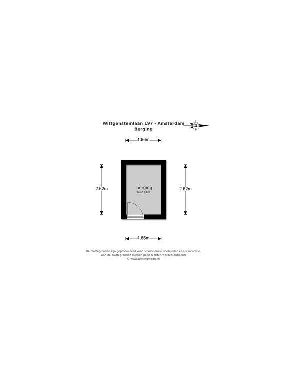 Amsterdam – Wittgensteinlaan 197 – Plattegrond 2