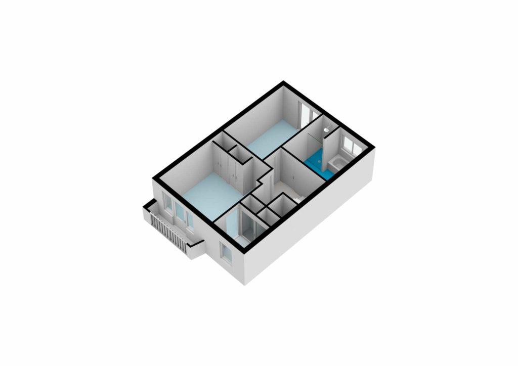 Amstelveen – Da Costalaan 46 – Plattegrond 4