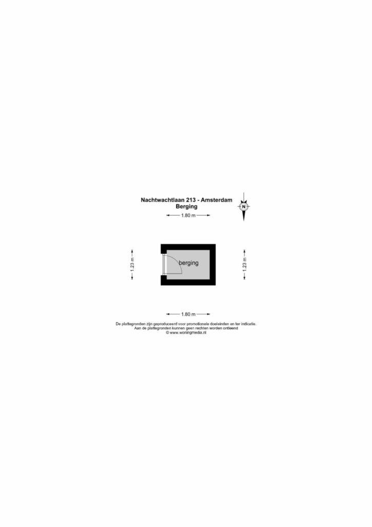Amsterdam – Nachtwachtlaan 213 – Plattegrond 6